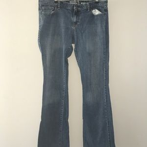 Old Navy Ultra Low Waist Bootcut Size 14 Long